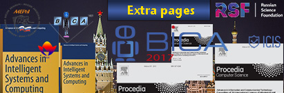 BICA 2017 or Fierces 2017 Proceedings Extra Page Fees - Per Page, for Accepted Papers Only